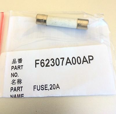 Panasonic Sharp Whirlpool  Microwave Fuse 20 A OEM part # F62307A00AP