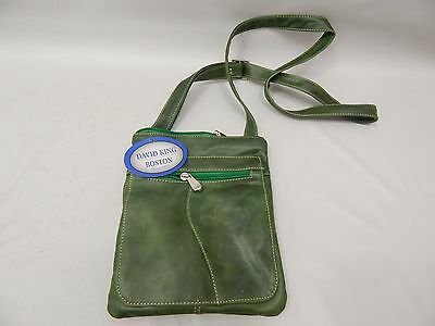 David King & Co. Florentine Slender Shoulder Bag 3598 Green