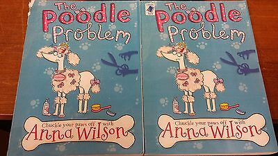 The Poodle Problem by Anna Wilson EXTRA LARGE PRINT 2 Volumes (Paperback, 2012)