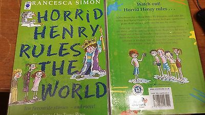 Horrid Henry Rules the World by Francesca Sim EXTRA LARGE PRINT Paperback 2008