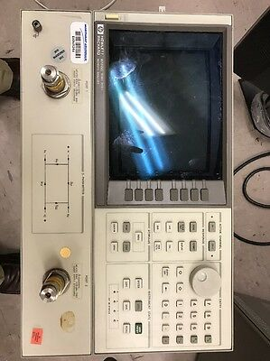 HP/Agilent 8720C Vector Network Analyzer, 50MHz to 20GHz with swept synthesized