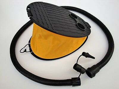 Bellows 3ltr Foot Air Pump for Inflatables Canoes Camping Airbeds Tubes Toys