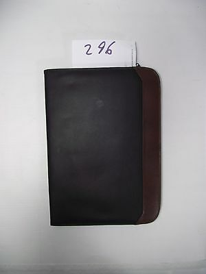 Black & Brown  PU A4 Conference Folder style 296