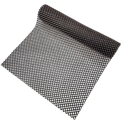 Black Anti Non Slip Multi Purpose Mat Rug Gripper 120 x 30cm Durable Grip Skid