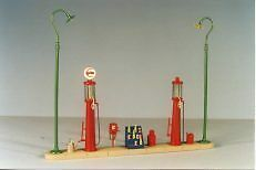 Berkshire Valley 453 O Gas Station Set