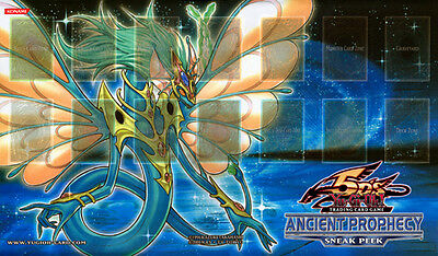 Yugioh Ancient Dragon - Ancient Prophecy Sneak Peek Playmat / Play Mat New