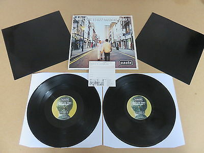 OASIS  ( Whats The Story ) Morning Glory CREATION ORIGINAL UK 1ST PRESSING 2x LP