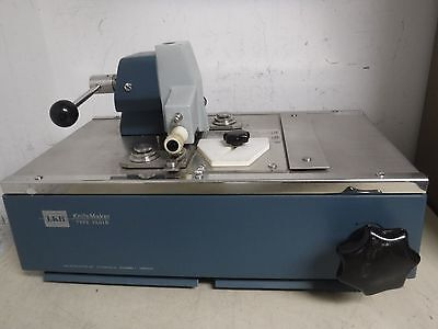 LKB KnifeMaker 7800 Type 7801 B 7801B Glass Microtome Microscope