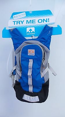 New Nathan Seeker Youth 1.5L Race Vest Hydration Pack - Blue