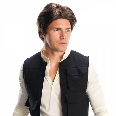 Han Solo Wig Costume Accessory Adult Star Wars Halloween