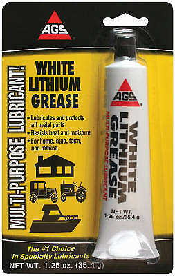 A G S Company WL-1H AGS White Lithium Grease-2OZ WH LITHIUM GREASE