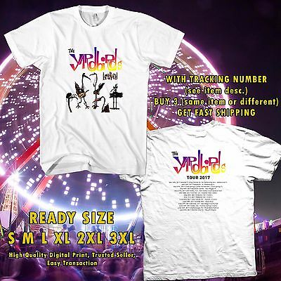 NEW THE YARDBIRDS TOUR 2017 BLACK OR WHITE TEE (add note on message) GRINDSTORE