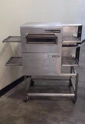 Lincoln Impinger 1132 Double Stack Electric Pizza Countertop Conveyor Oven
