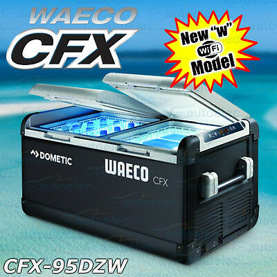 Waeco Cfx-95Dzw Fridge Freezer Portable 12V 240V Volt Car Truck 4X4 95 Litre