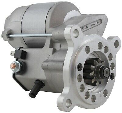 New USA Built Gear Reduction Starter Wisconsin 12V 10Tooth MBG4141 69646-C91