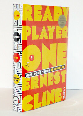 Ernest Cline SIGNED Ready Player One HC 1st Edition Later Print NEW Spielberg