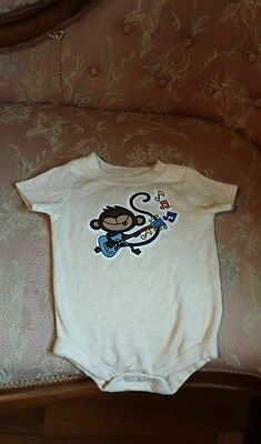 0-3 months Monkey onesies baby clothes boys girls