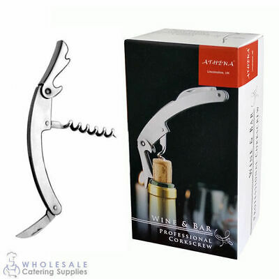 Curved Waiters Friend Athena Element Gift Boxed Corkscrew Bottle Opener Blade