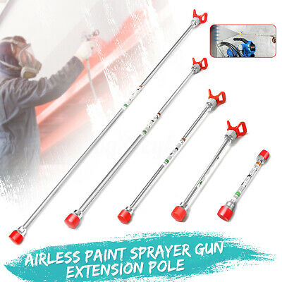 Airless Paint Sprayer Spray Gun Tip Extension Pole For Titan Wagner New
