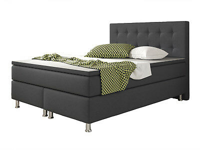 boxspringbett king size bett hotelbett designerbett. Black Bedroom Furniture Sets. Home Design Ideas