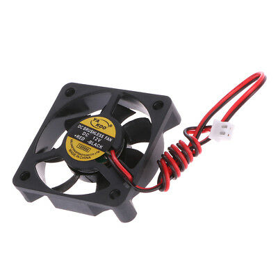 DC 12V 2-Pin 50x50x10mm 0.12A PC Computer CPU System Brushless Cooling Fan 5010