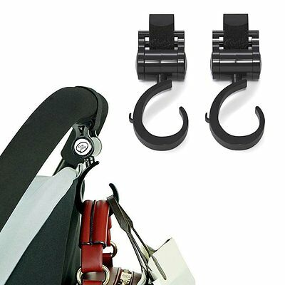 Mommy Hook for Stroller Diaper Bag Accessories Stroller Hooks Easy to Use