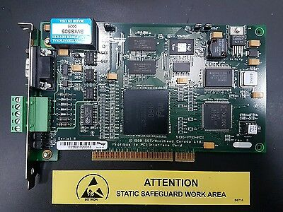 SST 5136-PFB-PCI Profibus Communications Adapter Module