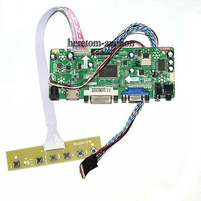 HDMI DVI VGA Audio LCD LED Controller Board For N173FGE-L13 N173FGE-L11 1600*900