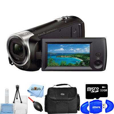 Sony HDR-CX405 HD Handycam Camcorder STARTER BUNDLE BRAND NEW