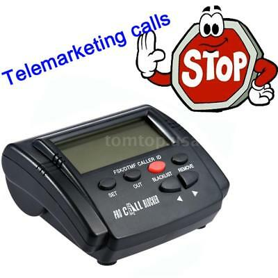 CT-CID802 Telephone Call Blocker Stop Nuisance w/ 1500 Numbers Capacity Hot R8Z6