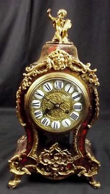 Fine Late French 19th Century Mantle Clock Retailed By W. Johnson & Sons