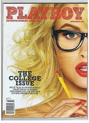 PLAYBOY, October 2015, (New In Original Packaging) The College Issue