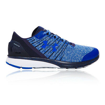 Under Armour Charged Bandit 2 Mens Blue Cushioned Running Shoes Trainers