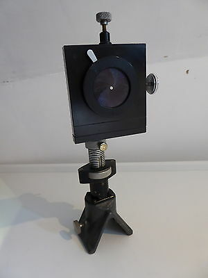 Beck Microscope Lens / Optics on Precision Tool & Instrument Optical Bench