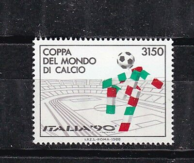italy 1988 world cup,MNH Sc 1742          h621