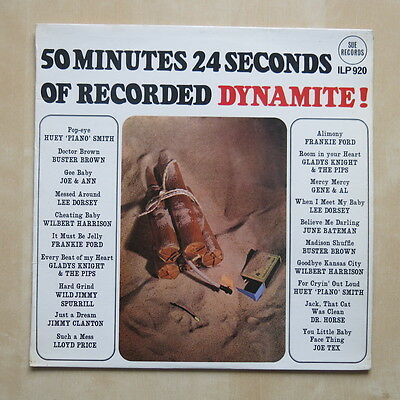 50 MINUTES 24 SECONDS OF RECORDED DYNAMITE! UK vinyl LP Sue Records ILP920 1965