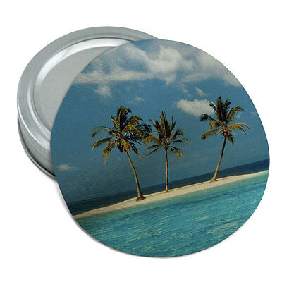 Tropical Deserted Island Beach Ocean Rubber Non-Slip Jar Gripper Lid Opener
