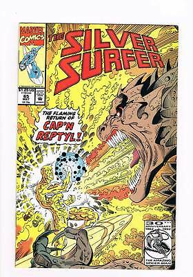 Silver Surfer # 65 Vol 2 Cold Blooded ! grade 8.5 scarce book !!
