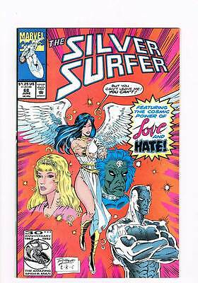 Silver Surfer # 66 Vol 2 Conflicting Emotions ! grade 9.0 scarce book !!
