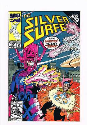 Silver Surfer # 67 Vol 2 Sins of the Fathers ! Infinity War grade 8.5 scarce !!