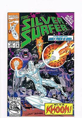 Silver Surfer # 68 Vol 2 Lost ! Infinity War grade 9.0 scarce !!