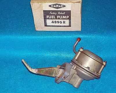1960 1961 1962 Ford Mercury & Truck 6cyl Rebuilt Fuel Pump Capac 4896
