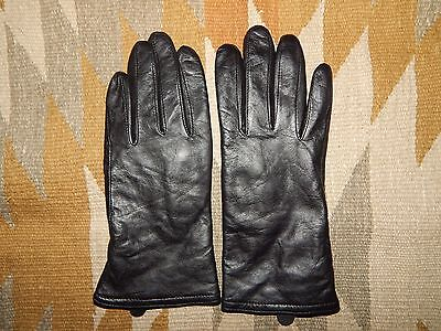 Women's S/M Butter Soft Black Leather Driving Gloves ~ EPOC