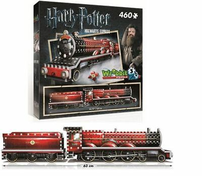 Wrebbit 3d Jigsaw Puzzle - Harry Potter - Hogwarts Express - 460 Piece