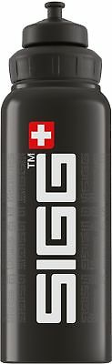 Sigg - WMB Siggnature Black - 1L- Aluminum Water Bottle