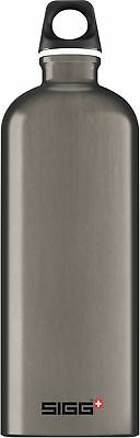 Sigg - Traveller Smoked Pearl - 1L- Aluminum Water Bottle