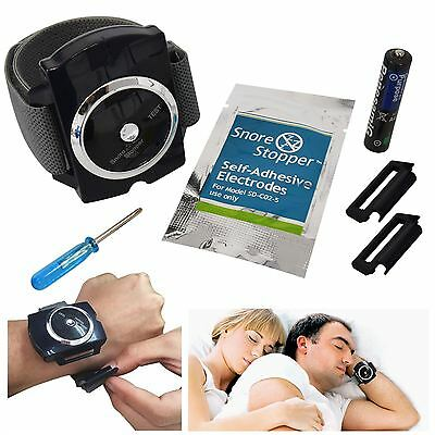 Snore Stopper Bracelet Wristband Device Intelligent Infrared Stop Snoring Aid
