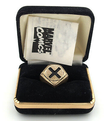 X-MEN Sterling Silver Comic Character Ring in Box for Diamond Comic Distributors