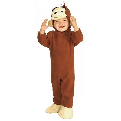 Curious George Costume Baby Monkey Halloween Fancy Dress