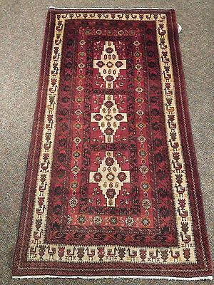 Handsome Hand Knotted Tribal Qashqai 3.3X4.4Ft Rug K258